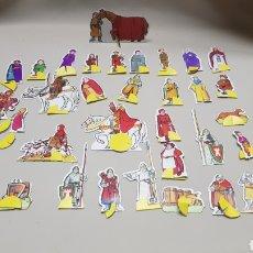 Coleccionismo Cromos troquelados antiguos: CROMOS TROQUELADOS RUY EL PEQUEÑO CID . DANONE. Lote 122643208