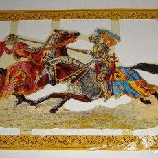 Coleccionismo Cromos troquelados antiguos: LÁMINA DE CROMOS TROQUELADOS. 1987. REPRODUCED ARCHIVO MAMELOK INGLATERRA. Lote 123372199