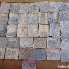 Coleccionismo Cromos troquelados antiguos: LOTE DE 36 CROMOS TROQUELADOS O RELIEVE LA LUCHA FABRICA DE TABACOS MANUEL LOPEZ TENERIFE. Lote 125425883