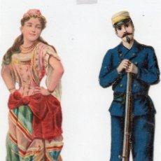 Coleccionismo Cromos troquelados antiguos: CROMOS TROQUELADOS, PUBLICIDAD VENANCIO VAZQUEZ. Lote 128415883