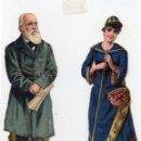 Coleccionismo Cromos troquelados antiguos: CROMOS TROQUELADOS, ULTIMO SIGLO XIX, PRINCIPIO XX, . Lote 128523267