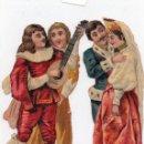 Coleccionismo Cromos troquelados antiguos: CROMOS TROQUELADOS,PRINCIPIO SIGLO XX, CON PUBLICIDAD. Lote 128614671