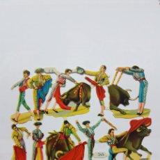 Coleccionismo Cromos troquelados antiguos: LÁMINA DE CROMOS TROQUELADOS ORIGINAL DE LOS 60 F.B. 245. Lote 128950999