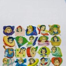 Coleccionismo Cromos troquelados antiguos: LÁMINA DE CROMOS TROQUELADOS ORIGINAL DE LOS AÑOS 60 F.B.NAUTILUS. Lote 128951283