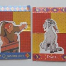 Coleccionismo Cromos troquelados antiguos: EL JOROBADO DE NOTRE DAME. DISNEY. CROMOS TROQUELADOS BIMBO. THE HUNCHBACK OF NOTRE DAME.. Lote 130976540