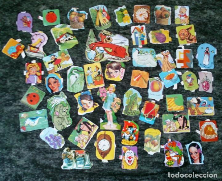 LOTE 50 CROMOS TROQUELADO TROQUELADOS ANTIGUOS DE LA PALMA PICAR (Coleccionismo - Cromos y Álbumes - Cromos Troquelados)