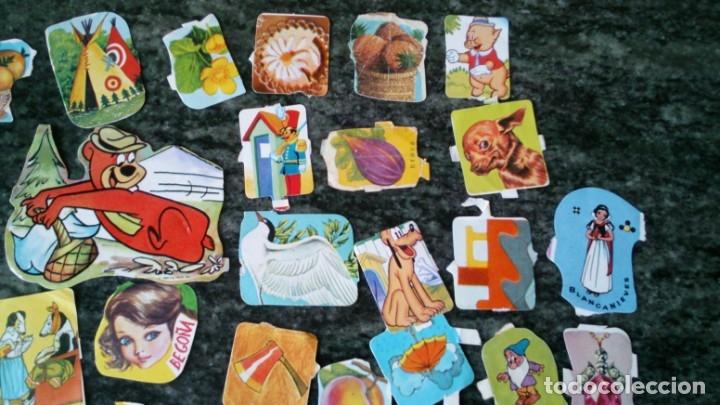 Coleccionismo Cromos troquelados antiguos: Lote 50 cromos troquelado troquelados antiguos de la Palma picar - Foto 4 - 131318678