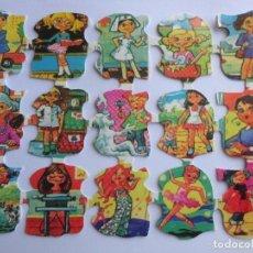 Coleccionismo Cromos troquelados antiguos: LÁMINA DE CROMOS TROQUELADOS INFANTILES.. Lote 222659657