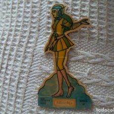 Coleccionismo Cromos troquelados antiguos: CROMO TROQUELADO PANRICO MAZINGER Z SAYAKA 27 ERROR IMPRESIÓN COLOR VERDE. LEER. Lote 114578723