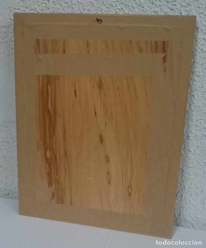 Coleccionismo Cromos troquelados antiguos: Precioso cuadro con recortables de la época, muy bien enmarcado marco de madera. - Foto 2 - 134037334