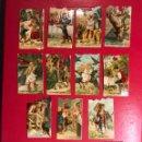 Coleccionismo Cromos troquelados antiguos: CHOCOLATES EVARISTO JUNCOSA (BARCELONA) 14. CROMOS TROQUELADOS (H.1940?). Lote 135337242