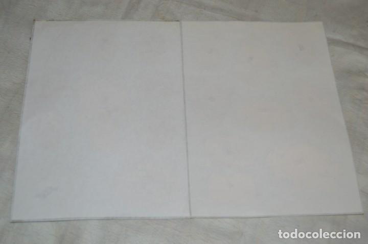 Coleccionismo Cromos troquelados antiguos: ANTIGUAS HOJAS CON CROMOS TROQUELADOS - TEMÁTICA FLORES - ¡Mira fotos! - HOJA LOTE Nº5 - Foto 4 - 139296062