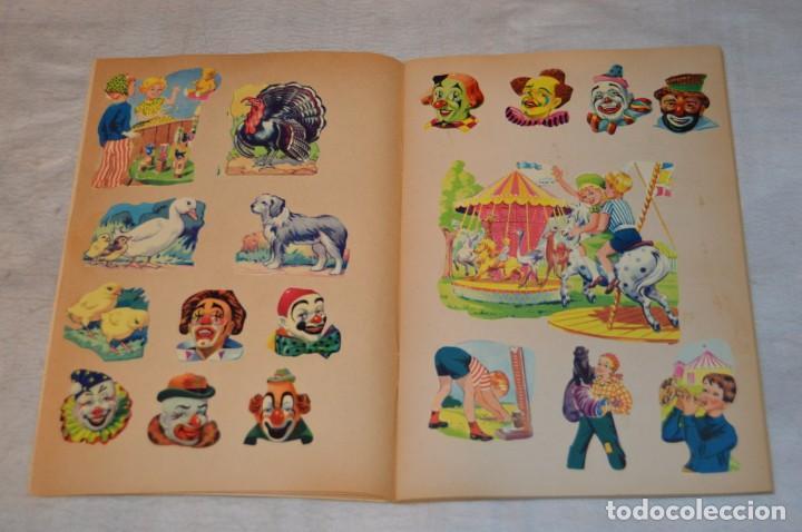 Coleccionismo Cromos troquelados antiguos: ANTIGUO ALBUM DE CROMOS TROQUELADOS - GLANS BILLEDER - LIM - MADE IN DENMARK - ENVÍO 24H - ALBUM N2 - Foto 2 - 139347222