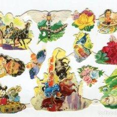 Coleccionismo Cromos troquelados antiguos: LAMINA EVA Nº 126 CON BRILLO Y RELIEVE ORIGINAL AÑOS 60/70 EDIT. VASCO-AMERICANA NUEVA DE PAQUETE. Lote 142124602