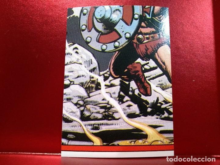 Coleccionismo Cromos troquelados antiguos: CROMO TROQUELADO TEELA - MASTERS UNIVERSE - MASTERS UNIVERSO - HEMAN - PEEL OFF STICKER Nº 20 - Foto 2 - 142364822