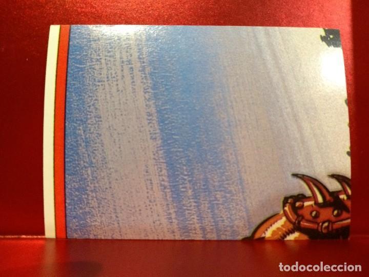 Coleccionismo Cromos troquelados antiguos: CROMO TROQUELADO TEELA - MASTERS UNIVERSE - MASTERS UNIVERSO - HEMAN - PEEL OFF STICKER Nº 13 - Foto 2 - 142364998