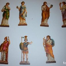 Coleccionismo Cromos troquelados antiguos: FIGURAS ANTIGUAS. Lote 142996506