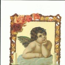 Coleccionismo Cromos troquelados antiguos: LÁMINA CROMOS TROQUELADOS EF 7203 ÁNGELES VICTORIANOS. Lote 146615118