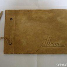 Coleccionismo Cromos troquelados antiguos: ALBUM ANTIGUO CON CROMOS TROQUELADOS. Lote 147055726