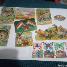 Coleccionismo Cromos troquelados antiguos: LOTE CROMOS TROQUELADOS ANIMALES. Lote 147749374