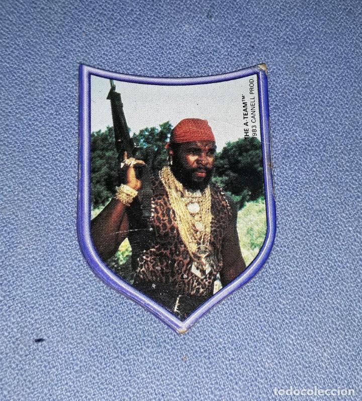 CROMO TROQUELADO EL EQUIPO A THE A. TEAM CANNELL PROD DE PANRICO AÑO 1983 VER DESCRIPCION (Coleccionismo - Cromos y Álbumes - Cromos Troquelados)