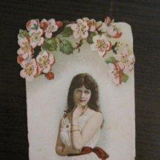 Coleccionismo Cromos troquelados antiguos: CROMO TROQUELADO ANTIGUO-VER FOTOS-(V-16.162). Lote 156239470