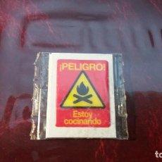 Coleccionismo Cromos troquelados antiguos: CROMO GREFUSA - SEÑALES - PELIGRO ESTOY COCINANDO.. Lote 157889642