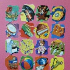 Coleccionismo Cromos troquelados antiguos: LAMINA CROMOS TROQUELADOS DE PALMA O PICAR BOGA Nº219 CON RELIEVE Y BRILLO. Lote 214254235