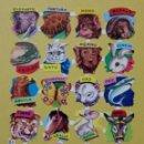 Coleccionismo Cromos troquelados antiguos: LAMINA CROMOS TROQUELADOS DE PALMA O PICAR EVA Nº112 SOLO BRILLO. Lote 160427978