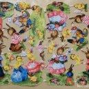 Coleccionismo Cromos troquelados antiguos: LAMINA CROMOS TROQUELADOS DE PALMA O PICAR EAS Nº3164 RELIEVE Y BRILLO. Lote 160472622