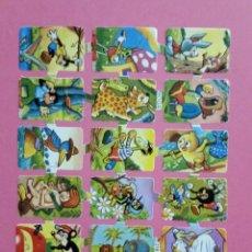 Coleccionismo Cromos troquelados antiguos: LAMINA CROMOS TROQUELADOS DE PALMA O PICAR BOGA Nº218 CON RELIEVE Y BRILLO. Lote 160420278