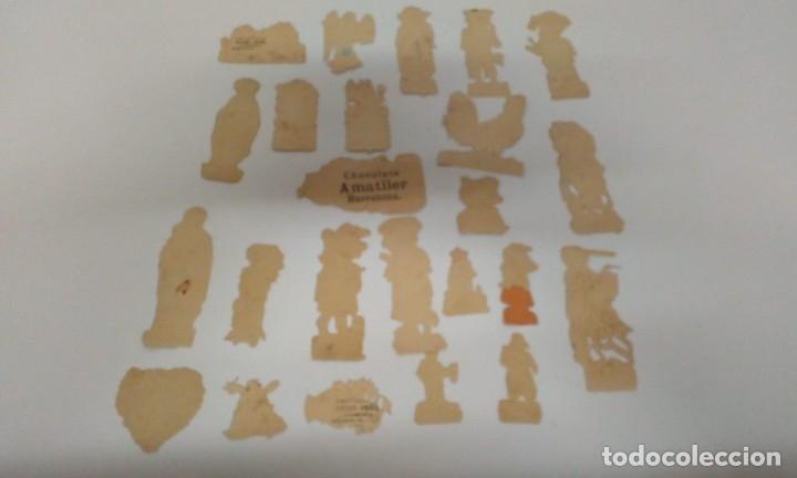 Coleccionismo Cromos troquelados antiguos: LOTE DE CROMOS TROQUELADOS - Foto 2 - 163926474