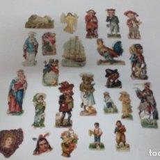 Coleccionismo Cromos troquelados antiguos: LOTE DE CROMOS TROQUELADOS. Lote 163926474
