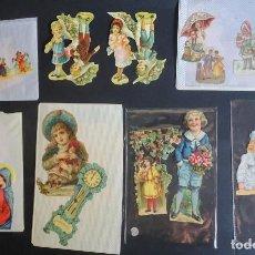 Coleccionismo Cromos troquelados antiguos: LOTE DE 14 CROMOS TROQUELADOS DIFERENTES , VER FOTOS. Lote 165441398