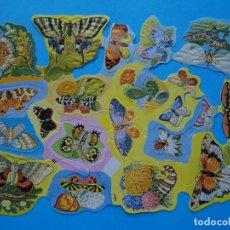Coleccionismo Cromos troquelados antiguos: ..•:*¨.*:•..LAMINA DE CROMOS TROQUELADOS ESPAÑOLES SIMA Nº16 AÑOS 60/70 ..•:*¨.*:•... Lote 195422310