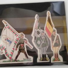 Coleccionismo Cromos troquelados antiguos: PHOSKITOS LOTE DE CROMOS TROQUELADOS GUERRA MUNDIAL. Lote 169891336