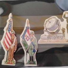 Coleccionismo Cromos troquelados antiguos: PHOSKITOS LOTE DE CROMOS TROQUELADOS SEGUNDA GUERRA MUNDIAL. Lote 169893521