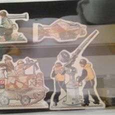 Coleccionismo Cromos troquelados antiguos: PHOSKITOS LOTE DE CROMOS TROQUELADOS SEGUNDA GUERRA MUNDIAL. Lote 169894248