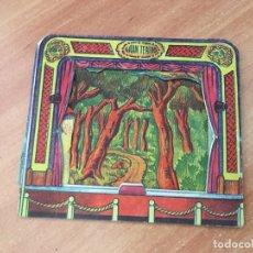 Collectionnisme Cartes à collectionner massicotées anciennes: GRAN TEATRO FIGURA TROQUELADA 3 DIMENSIONES 11 X 10 CM VER FOTOS (COIB7). Lote 171242957