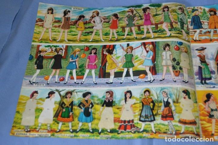 Coleccionismo Cromos troquelados antiguos: Álbum MIS MODELOS - Cromos troquelados autoadhesivos - Ábum de MAGA 1975 ¡Mira fotos/detalles! - Foto 2 - 173451880