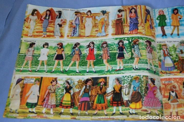 Coleccionismo Cromos troquelados antiguos: Álbum MIS MODELOS - Cromos troquelados autoadhesivos - Ábum de MAGA 1975 ¡Mira fotos/detalles! - Foto 4 - 173451880