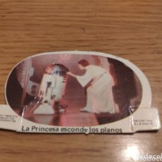 Coleccionismo Cromos troquelados antiguos: CROMO STAR WARS PHOSKITOS DE LA GUERRA DE LAS GALAXIAS -EDITA SALLENT - AÑO 1977. Lote 174105035