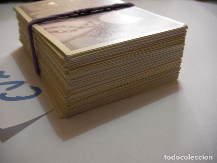 Coleccionismo Cromos troquelados antiguos: GRAN LOTE DE CROMOS SANTORO DE PANINI - Foto 4 - 174264282