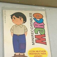 Coleccionismo Cromos troquelados antiguos: MINI RECORTABLES MARCO. Lote 177145853