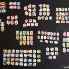 Coleccionismo Cromos troquelados antiguos: 208 CROMOS TROQUELADOS AÑOS 80,DE VARIOS TIPO: WATDISNEY, CUENTOS, ANIMALES... Lote 179556313