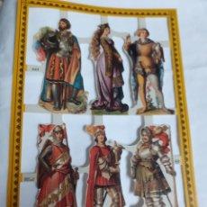 Coleccionismo Cromos troquelados antiguos: CROMOS DE PICAR VICTORIANOS TROQUELADOS NÚM A43. Lote 180153763