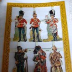 Coleccionismo Cromos troquelados antiguos: CROMOS DE PICAR VICTORIANOS TROQUELADOS NÚM. A46. Lote 180154092
