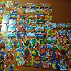 Coleccionismo Cromos troquelados antiguos: LOTE X 9 HOJAS ANTIGUOS CROMOS DE PICAR TROQUELADOS. EXCELENTE ESTADO. TODOS DIFERENTES. Lote 180229735