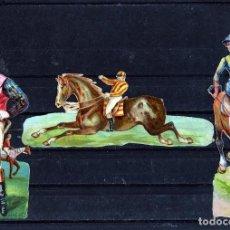 Coleccionismo Cromos troquelados antiguos: TRES CROMOS TROQUELADOS-PUBLICIDAD CHOCOLATES AMATLLER.BRILLO Y RELIEVE.FOTO ADICIONAL REVERSO .. Lote 191332447