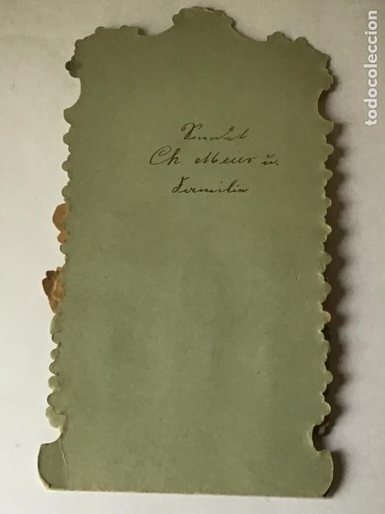 Coleccionismo Cromos troquelados antiguos: LOTE DE ANTIGUOS CROMOS TROQUELADOS DESPLEGABLES DEL SIGLO 19 , ORIGINAL FELICITACION POP UP - Foto 17 - 192732288